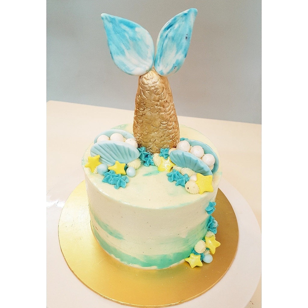 Mermaid Tail Cake (Self Pickup Only)