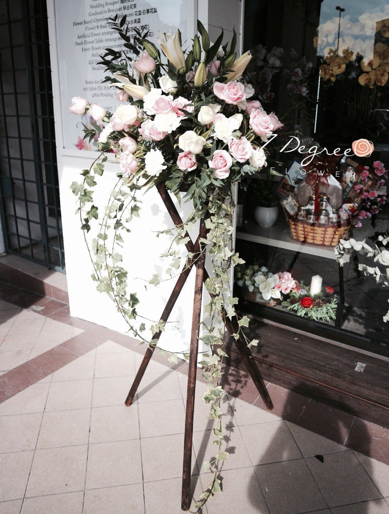 Modern Grand Opening Flower Stand