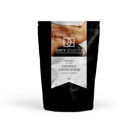 Coconut Coffee Scrub (Hydrating & Nourishing)