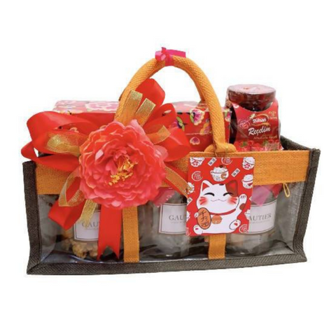 CNY 2021 Hamper | Opulence Deluxe Gift Bag 2021 | New Year 2021 Gift Pack