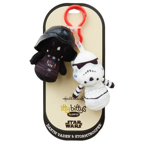 Itty Bitty® Clippy Darth Vader & Stormtrooper