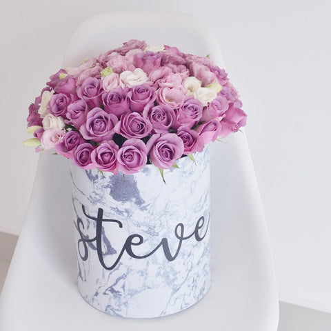 Tailored Marble Design Flower Box