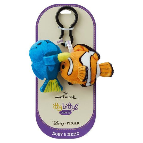 Itty Bitty® Clippy Dory & Nemo