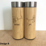 Couple Design Stainless Steel Thermal Flask (Est. 4-6 working days)