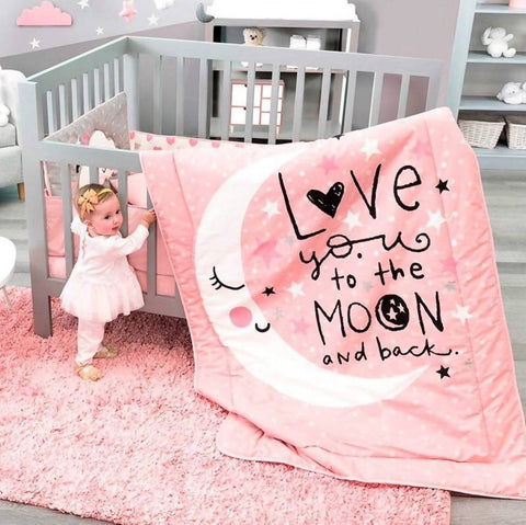 Bed Cover Set - Moon (Klang Valley Delivery Only)