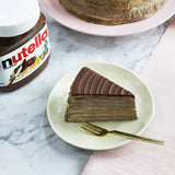 Nutty-Mushy Nutella Banana Mille Crepe Cake