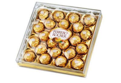 Ferrero Rocher Chocolates (24 pieces)