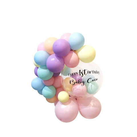 Pastel Bubble Garland