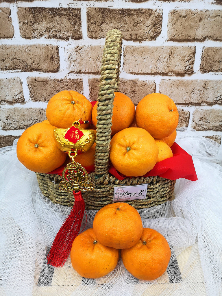(18pcs) CNY Mandarin Orange