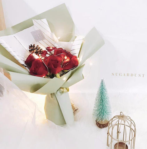 Christmas Bouquet - Jolly Twinkle