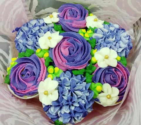 Flower Bou-cake (2 designs) - Valentine's Day 2019