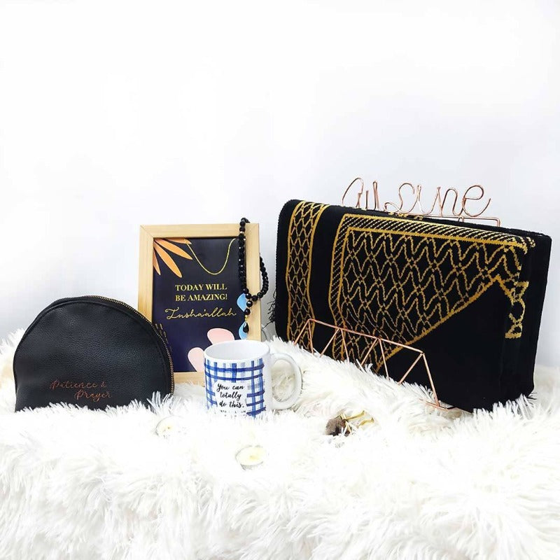 Hari Raya 2021 Dua Gifts Sejadah Black Collection (West Malaysia Delivery Only)