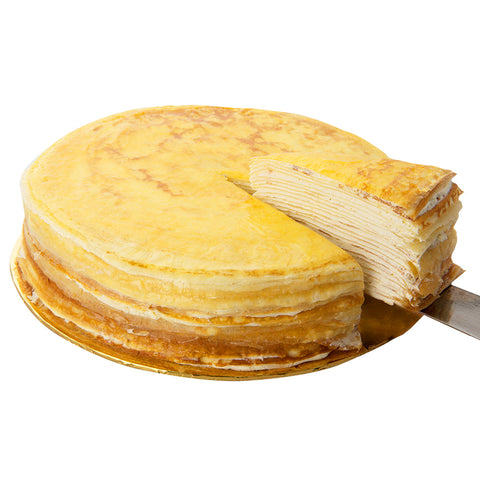 French Vanilla Mille Crepe