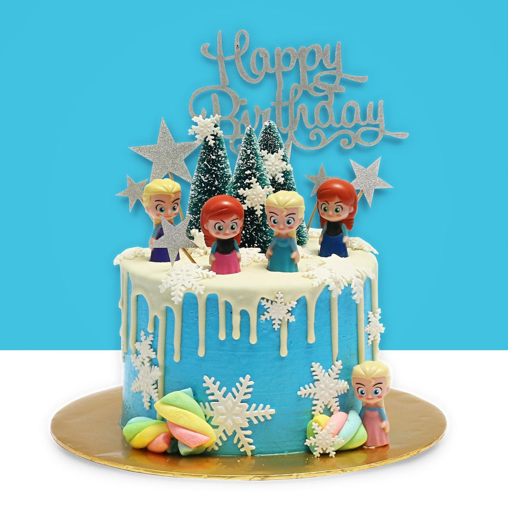 Frozen Design Cake