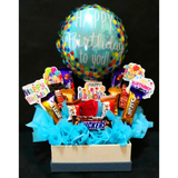 Birthday Chocolate Box in Blue