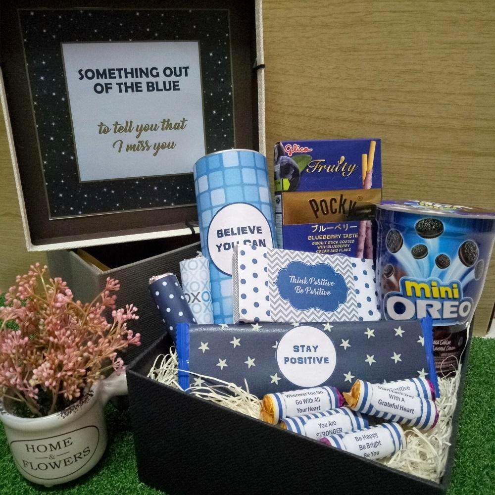 Personalised Out of the Blue Gift Box