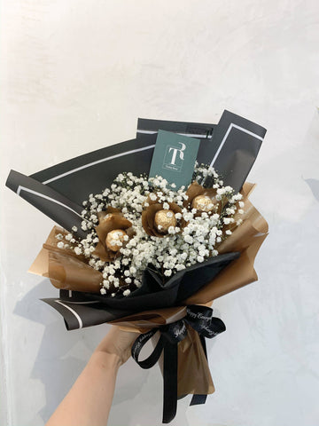 Ferrero Baby Breath Bouquet ( Melaka Delivery Only )