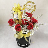 Chocolate Flower Gift Box 51