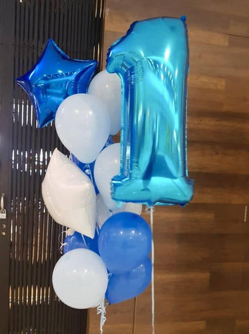 Large Number Balloon Bouquet