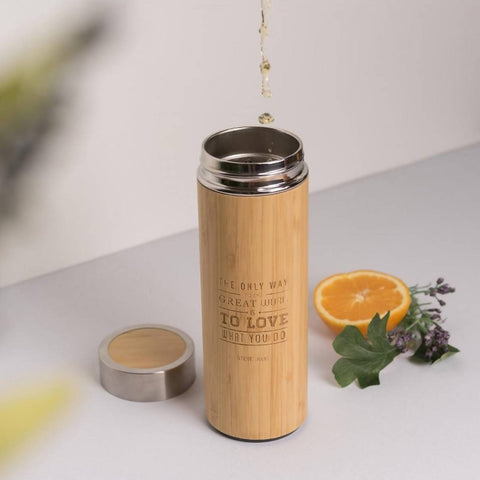 *Christmas 2020* Personalised Stainless Steel Thermal Flask with Wordings & Image (Est. 4-6 working days)