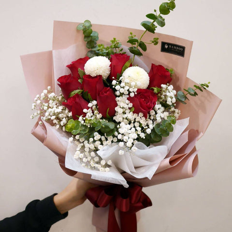 Christmas 2018 Red Bouquet (Penang Delivery only)
