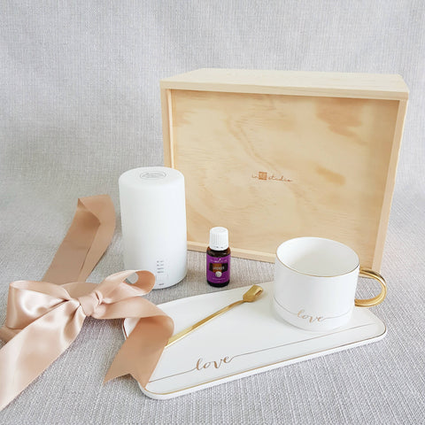 AIR DIFFUSER PINE WOOD GIFT SET 10 (Klang Valley Delivery)
