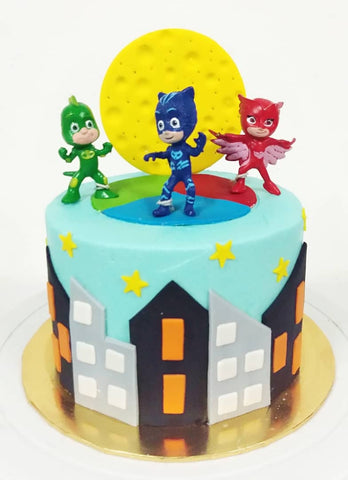 PJ Masks Design Cake