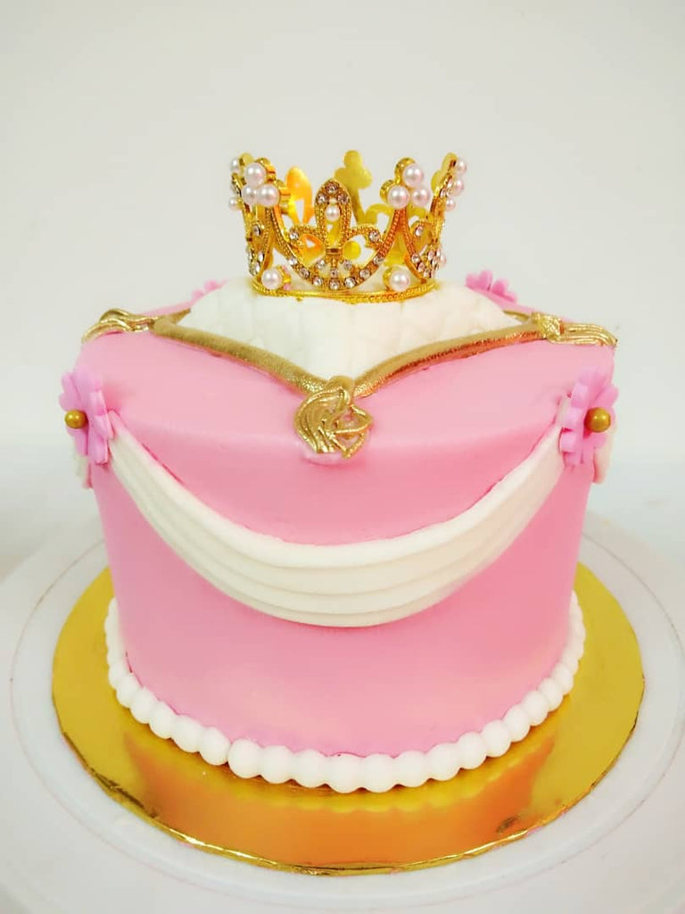 Princess Crown Design Cake