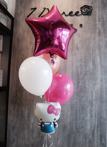 Hello Kitty Helium Balloon Set