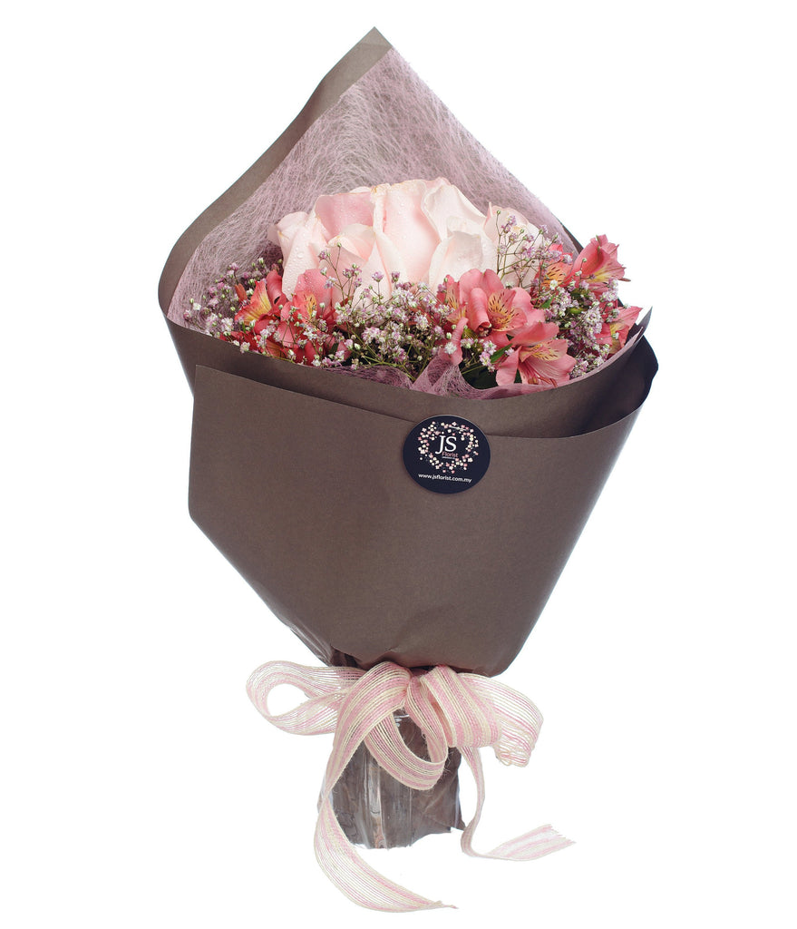 Sweet Posy Pink Roses