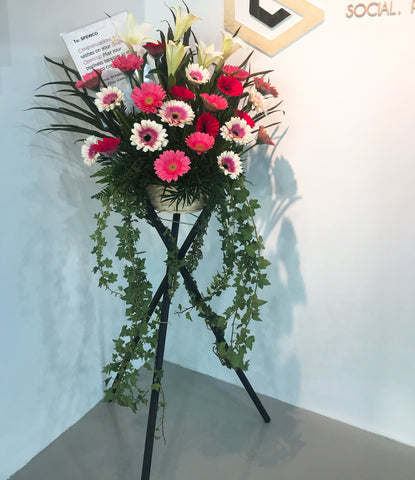 Gerbera Lily Flower Stand