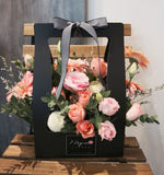 Mixed Flowers in Hand Carry Box