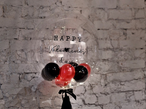 24″ LED Bubble Balloon - Valentine's Day 2019
