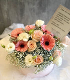 Mixed Roses and Gerbera Flower Box