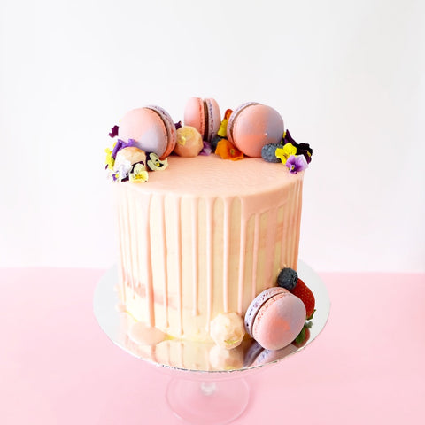 Tropical Buttercream Cake