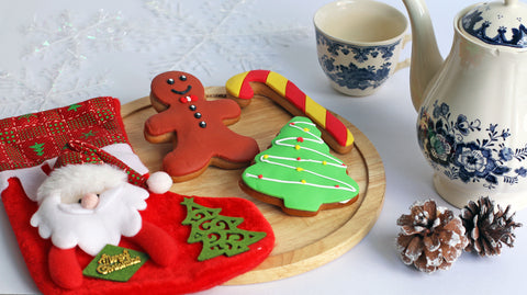 Gingerbread Cookies (3 pieces) Christmas 2018
