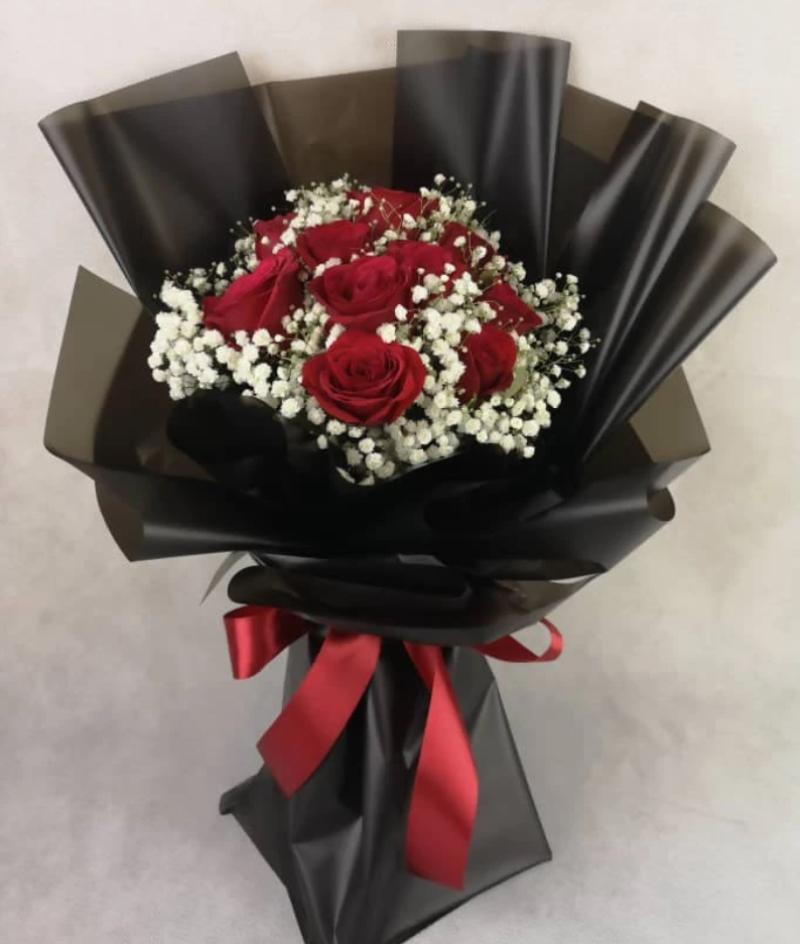 Valentine's Day 2020 Love Baby Roses Bouquet