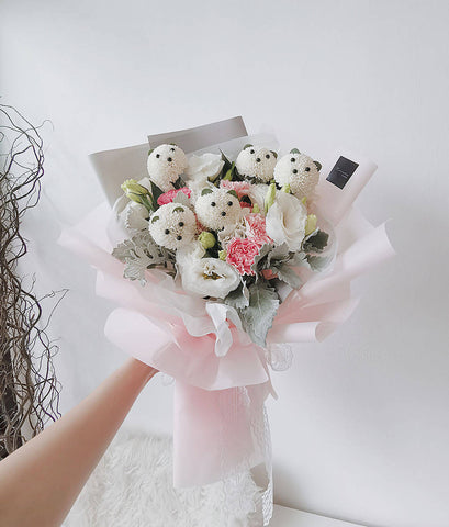Hana Bear (M size) Bouquet