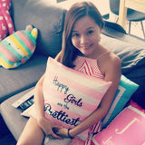 HAPPY GIRLS Cushion by ATD (Pre-order 15 to 25 working days)