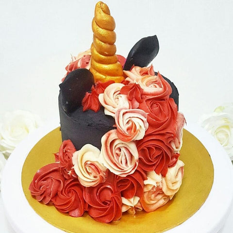 Black Beauty Unicorn Cake