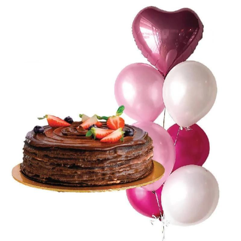 Cake + Balloon Bundle