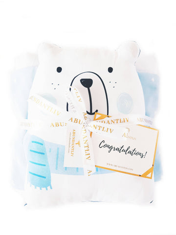 Bed Cover Set - Bear (Klang Valley Delivery Only)
