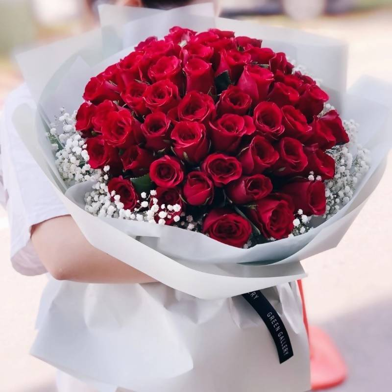Valentine's Day 2020 Red Roses Bouquet 5 (Kuching Delivery Only)