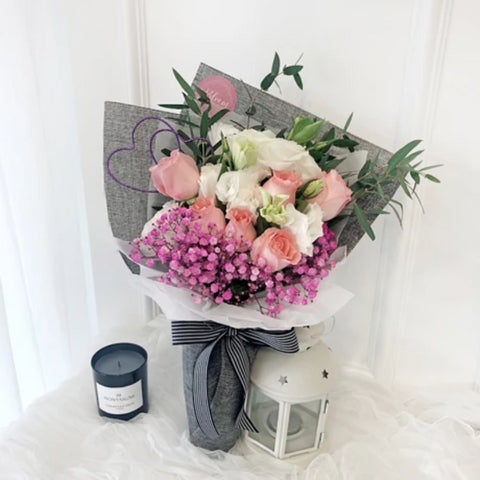 Korea Style 28 Flower Bouquet (Kuala Lumpur Delivery Only)