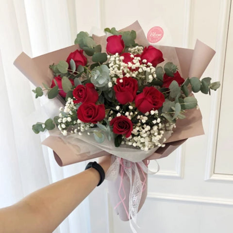 Korea Style 53 Flower Bouquet (Kuala Lumpur Delivery Only)