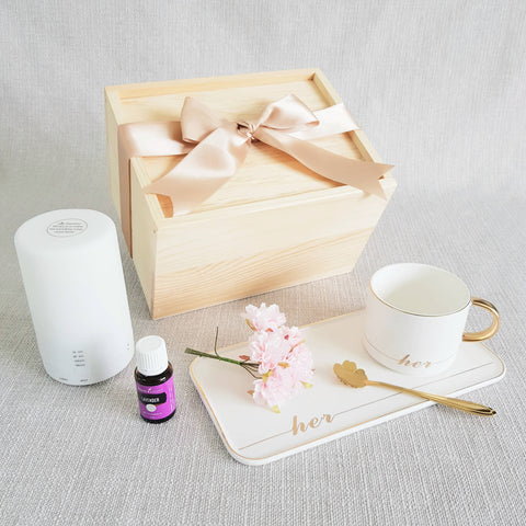 AIR DIFFUSER PINE WOOD GIFT SET 10 (Nationwide Delivery)