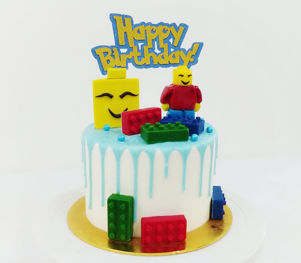 Lego Buttercream Frosting Cake Giftr Malaysia S