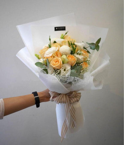 Waitrose Champagne Roses Bouquet (Penang Delivery only)