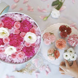 Eighteen Blossom's Flower Box Gift Set- Large Round Box