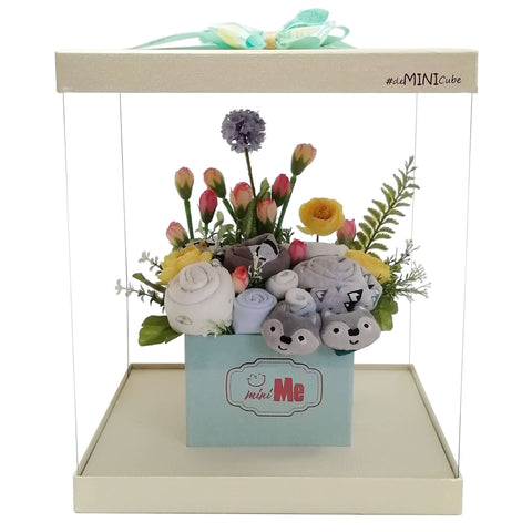 Full Moon Gift Bouquet for New Born Baby Boy - FMB 003
